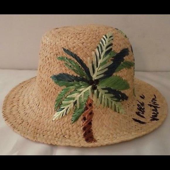 b5f4e0d1 kate spade Accessories | Womens Cloche Raffia Sun Hat Nwt | Poshmark